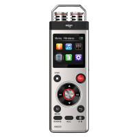 爱国者(aigo)R6633 8G 录音笔微型专业高清降噪 声控远距离 双供电MP3播放器