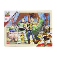 【当当自营】迪士尼拼图玩具 60片木质框式拼图-玩具总动员36DF2487