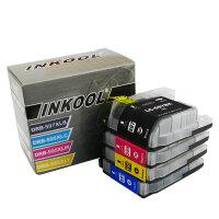 INKOOL适用兄弟MFC-J2510墨盒BROTHER LC597XLBK LC595XLC/M/Y大容量墨盒