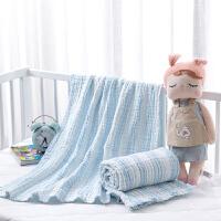 初生婴儿浴巾纯棉超柔吸水儿童纱布浴袍宝宝全棉空调被四季款毯子