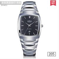 韩版防水男表 爸爸中年男士手表薄款时尚父亲节礼物钨钢石英表