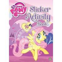 现货 小马宝莉贴纸书 英文原版 My Little Pony: Sticker Activity Book 儿童娱乐