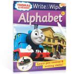 【顺丰包邮】进口英文原版绘本 可擦写:托马斯和朋友们系列Thomas Wipe & Write Alphabet 字母
