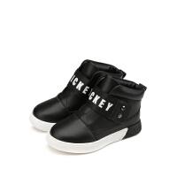 【99元任选2双】迪士尼Disney童鞋女童冬季保暖靴子S73601