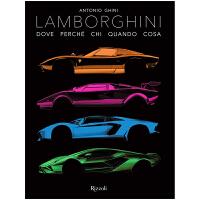 Lamborghini 兰博基尼 官方历史纪念图册画册 限量版汽车跑车超跑设计 英文原版