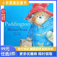 99选5 Paddington Bear 帕丁顿熊 英文原版绘本 英伦漂的生活趣事 平装