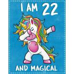 预订 Unicorn Birthday: I am 22 & Magical Unicorn birthday twe