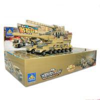 开智儿童积木拼装玩具益智3-6男孩军事坦克模型7-9岁塑料拼插