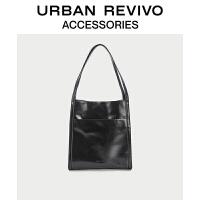 URBAN REVIVO2021春夏新品女士配件大容量时尚单肩包AW20TB2N2001