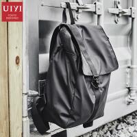 简约大容量旅行包男士双肩包韩版休闲背包大学生书包