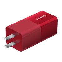 联想thinkplus 口红电源适配器 65W多能快充 支持Type-C 热力红