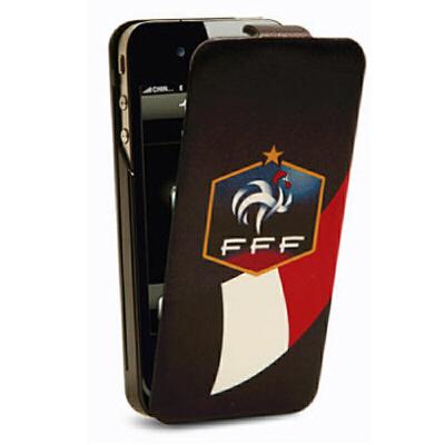 iFans苹果iphone4s背夹电池  足球移动电源 皮套手机壳   法国版 收藏级足球俱乐部, LG聚合物机芯
