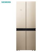 西门子(SIEMENS)BCD-481W(KM49EA30TI 481升 十字对开门冰箱 家用四开多门电冰箱 混冷无霜