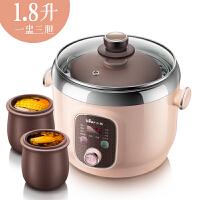 小熊(Bear)电炖锅隔水炖电炖盅宝宝煮粥锅紫砂 DDZ-A12D2