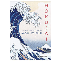 【Accordion-Fold】Hokusai: Thirty-Six Views of Mount Fuji,葛饰北