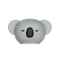 马克图布martube小熊考拉暖水袋可爱注水热水袋迷你便携创意硅胶 NSD1904灰色考拉