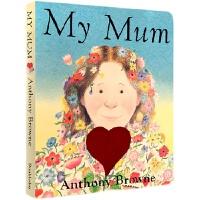 My Mum (Board Book) 我妈妈(卡板书)ISBN 9780385613675