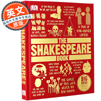 DK莎士比亚百科 作品研究指南 英文原版 The Shakespeare Book: Big Ideas Simply