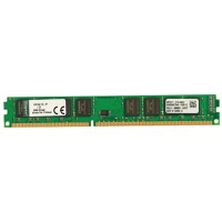 金士�D(Kingston)DDR3 1600 8G �_式�C�却�l 速度�c�定 1.35V低��寒a品,可降低�l��,增���勖�