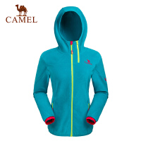 Camel骆驼 户外抓绒衣 新款女士上衣时尚休闲保暖抓绒衣