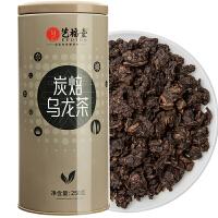 艺福堂 茶叶乌龙茶 油切炭焙黑乌龙 散装浓香铁观音250g/罐
