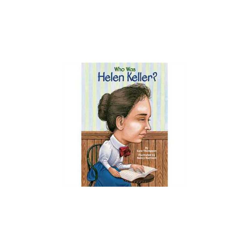 英文原版 名人传记系列 Who Was Helen Keller? 2147483647