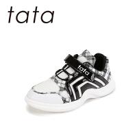 【159元任选2双】tata儿童运动鞋透气童鞋男童跑步鞋女童运动鞋宝宝单鞋软底防滑(5-15岁可选)W80779