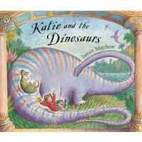 Katie: Katie and the Dinosaurs 凯蒂和恐龙(凯蒂的名画奇遇同一作者) ISBN 9781