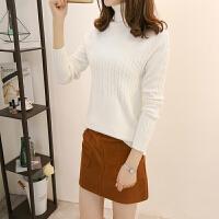 2017新款女装秋冬毛衣女韩版套头显瘦打底衫半高领针织衫