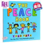 【中商原版】英文原版 The Peace Book 纽约时报畅销书作家Todd Parr托德帕尔作品 幼儿启蒙认知图画