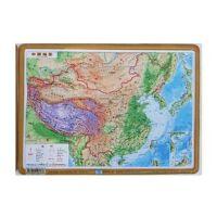 凹凸地图 凹凸立体地理 中国地形图 37x54cm 星球版