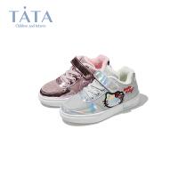 【券后价:119.2元】他她Tata童鞋儿童休闲鞋冬季新品童鞋中大童女孩时尚休闲鞋