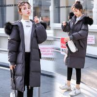新款韩版加厚宽松棉袄中长款怀孕期孕妇装棉衣冬装外套