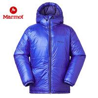 Marmot/土拨鼠防水羽绒服灰鹅绒加厚男轻薄羽绒服