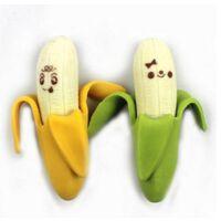 创意文具 可爱学习用品 小清晰剥皮香蕉橡皮擦2块 小学生奖品 1袋2个