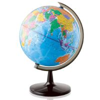 得力地球仪 得力3035 地球仪 32cm高清全塑行政地理教学地球仪