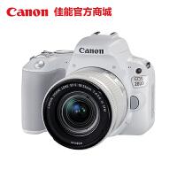 【佳能官方商城】Canon/佳能 EOS 200D 单反套机 EF-S 18-55mm       约2420万有效像素 DIGIC7处理器