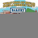 【预订】What Kind of Bread Does a Monkey Eat ?