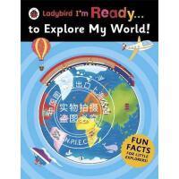 现货 瓢虫我准备好了。。。探索我的世界 英文原版 Ladybird Im Ready To Explore My Wor