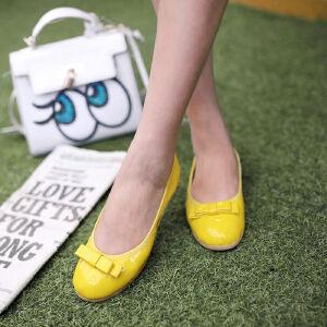 O'SHELL欧希尔新品057-1509韩版平底鞋女士豆豆鞋