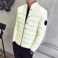 冬季男装棉衣2017新款皮棉衣休闲外套棉服皮棉袄保暖外套