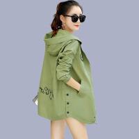 新女士外套2018年女士韩版新品春秋装百搭休闲时尚潮流中长款风衣外套衣