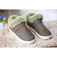 冬季 短棉鞋女鞋加绒保暖休闲鞋加厚 妈妈鞋厚底软底
