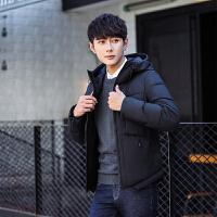 男士羽绒服男短款加厚青年韩版修身冬装棉衣棉服外套