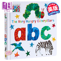 【中商原版】艾瑞卡尔 好饿的毛毛虫abc 英文原版 The Very Hungry Caterpillar's abc