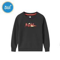 【1件5折叠券预估价:71.6】361度童装男童长袖套头卫衣2021年秋季中大童运动休闲上衣N52113306