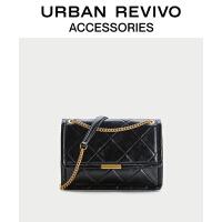 【当当超品价:199元】URBAN REVIVO2021春季新品女士配件单肩斜挎两用包AW04BB2N2000