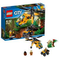 [当当自营]LEGO 乐高 City城市系列 丛林运输直升机 积木拼插儿童益智玩具60158
