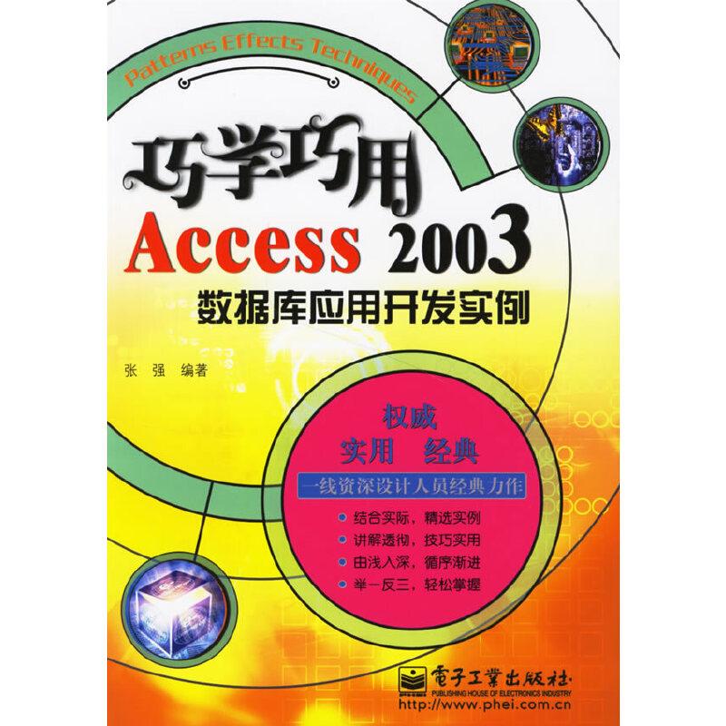 巧学巧用Access2003数据库应用开发实例