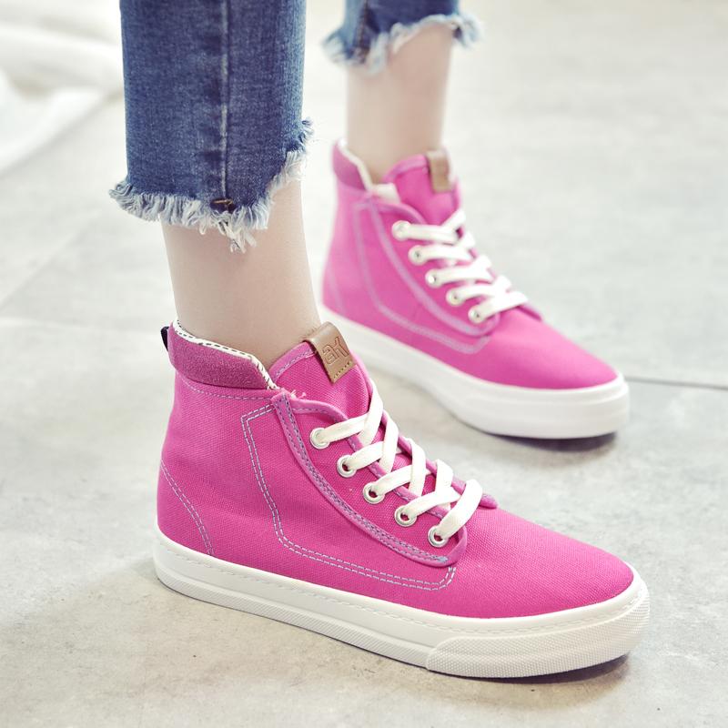 ELEISE美国艾蕾莎新品059-T30休闲牛仔布女士板鞋
